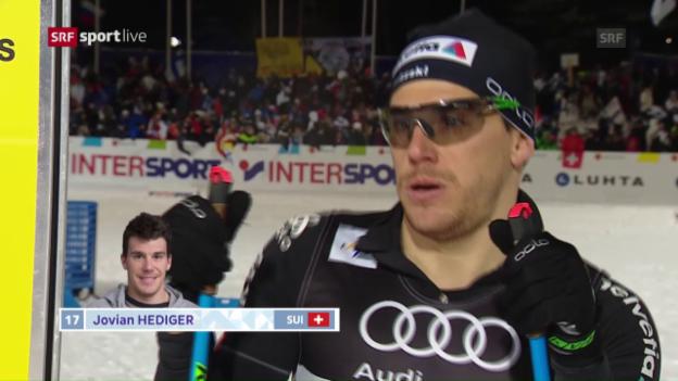 Video «Jovian Hediger ohne Chance im Halbfinal» abspielen