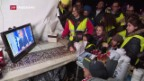 Video «Macrons Besänftigungsversuche verfangen nicht» abspielen