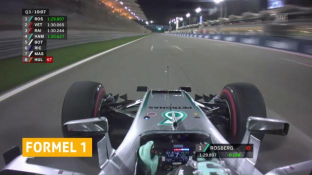 Video «Kehrtwende: F1 kehrt zum alten Qualifying zurück» abspielen