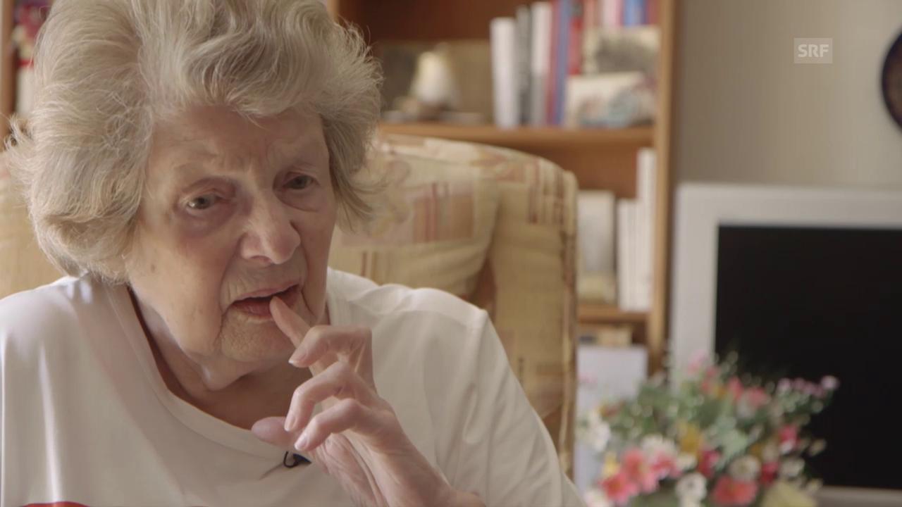 Frieda Göttin erinnert sich an den Abschied ihrer Eltern