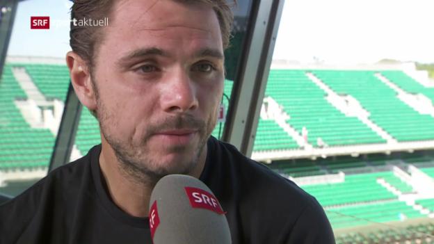 Video «Stan Wawrinka vor dem French-Open-Final» abspielen