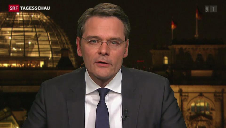 SRF-Korrespondent Reinhart: «Merkels Stimme wird für die Schweiz wichtig sein.»