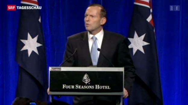 Video «Regierungswechsel in Australien» abspielen