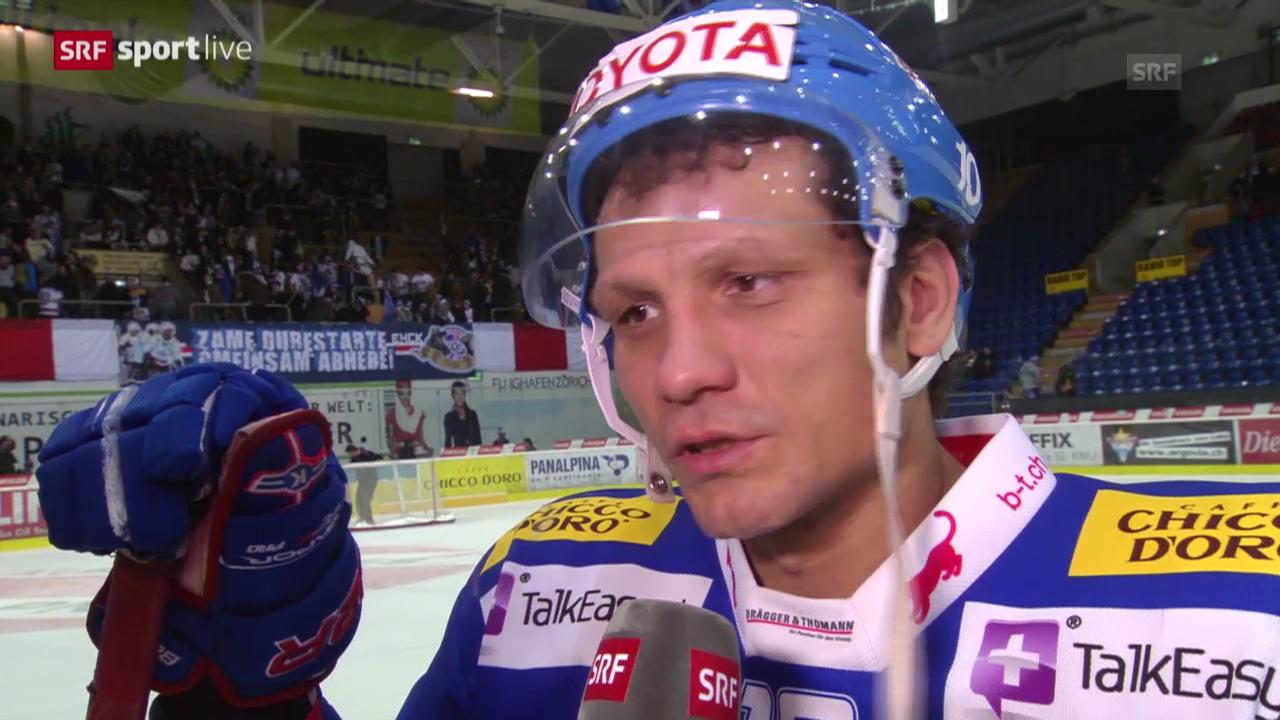 Eishockey: Interview mit Marcel Jenni («sportlive», 11.03.14)