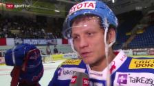 Video «Eishockey: Interview mit Marcel Jenni («sportlive», 11.03.14)» abspielen