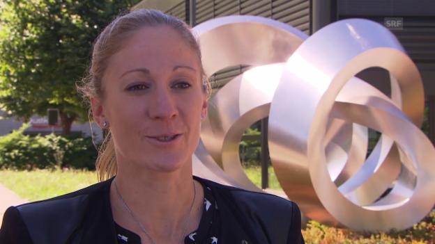 Video «Daniela Ryf mit einer Standortbestimmung» abspielen