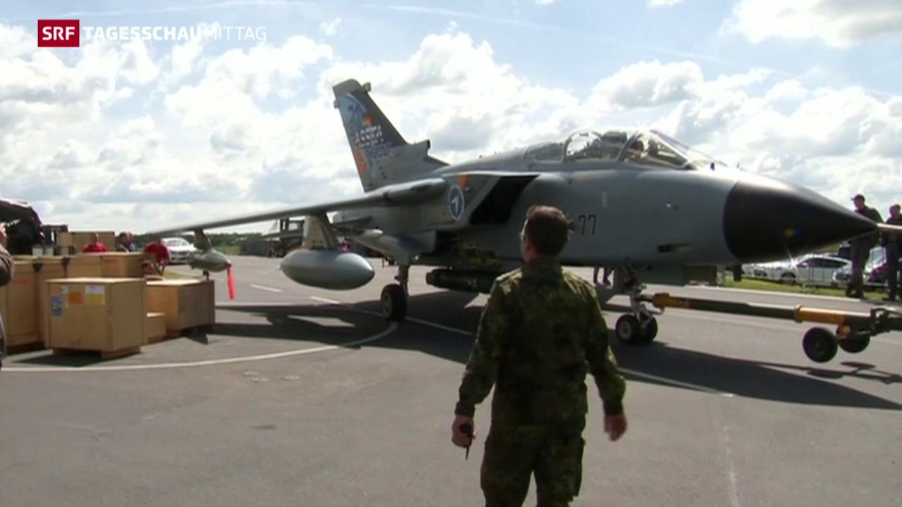 Bundeswehr beteiligt sich am Kampf gegen den IS