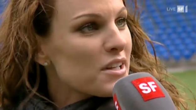 """Video «Chrstiane Surer im """"St.Jakobpark""""» abspielen"""