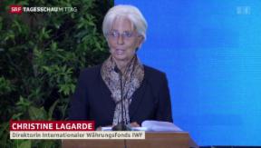 Video «Lagarde zur Börsensituation» abspielen