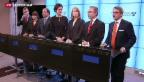 Video «Schwedische Regierung und Opposition einigen sich auf Zusammenarbeit» abspielen