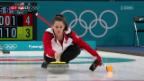Video «Die Curler schlagen USA, unterliegen aber Norwegen» abspielen
