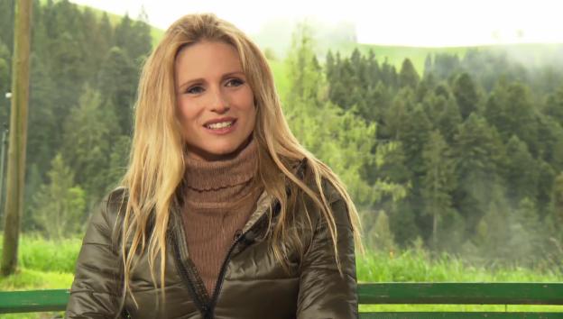 Video «Michelle Hunziker über den Schwingsport» abspielen