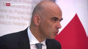 Video «Gesundheitsminister Berset sagt steigenden Kosten den Kampf an» abspielen