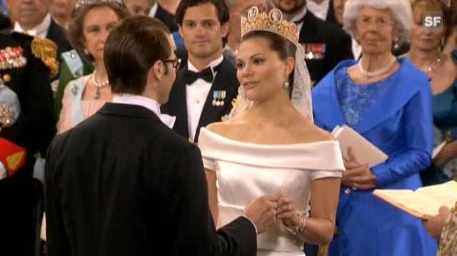 Das Jawort: Kronprinzessin Victoria und Daniel Westling