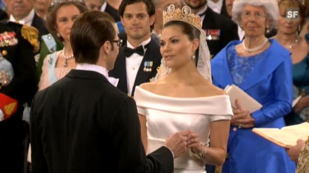 Video «Das Jawort: Kronprinzessin Victoria und Daniel Westling» abspielen
