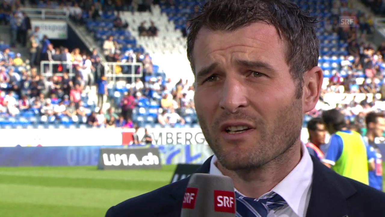 FCL-Sportchef Alex Frei über den Fall Kahraba