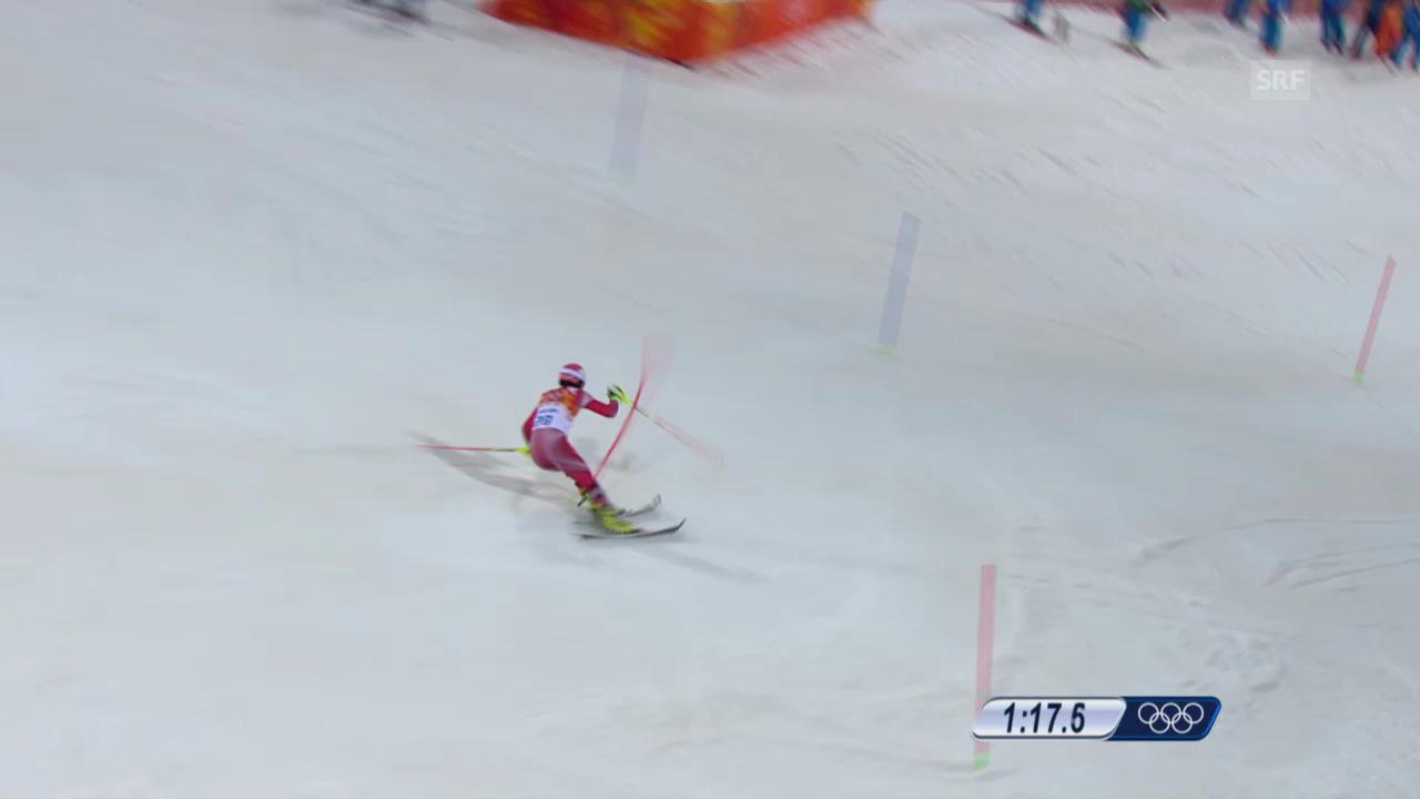 Ski: 2. Lauf Daniel Yule (sotschi direkt, 22.02.2014)