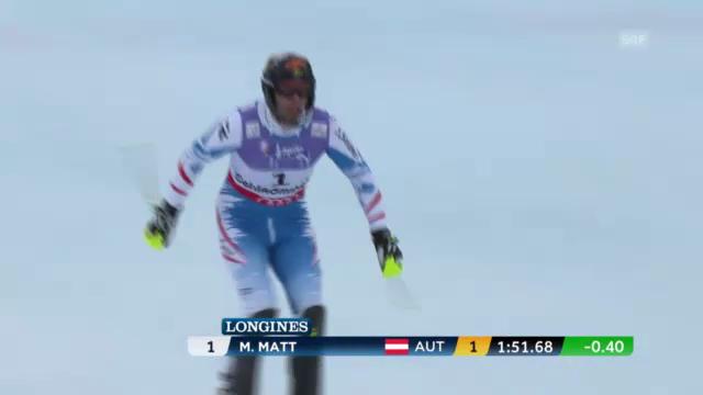 WM-Slalom: 2. Lauf Matt
