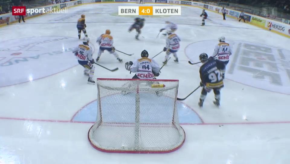 Eishockey: NLA, Bern - Kloten