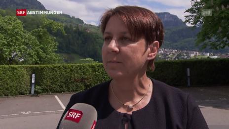 Video «Oberste Verantwortliche für die Kesb im Kanton Schwyz erleichtert» abspielen