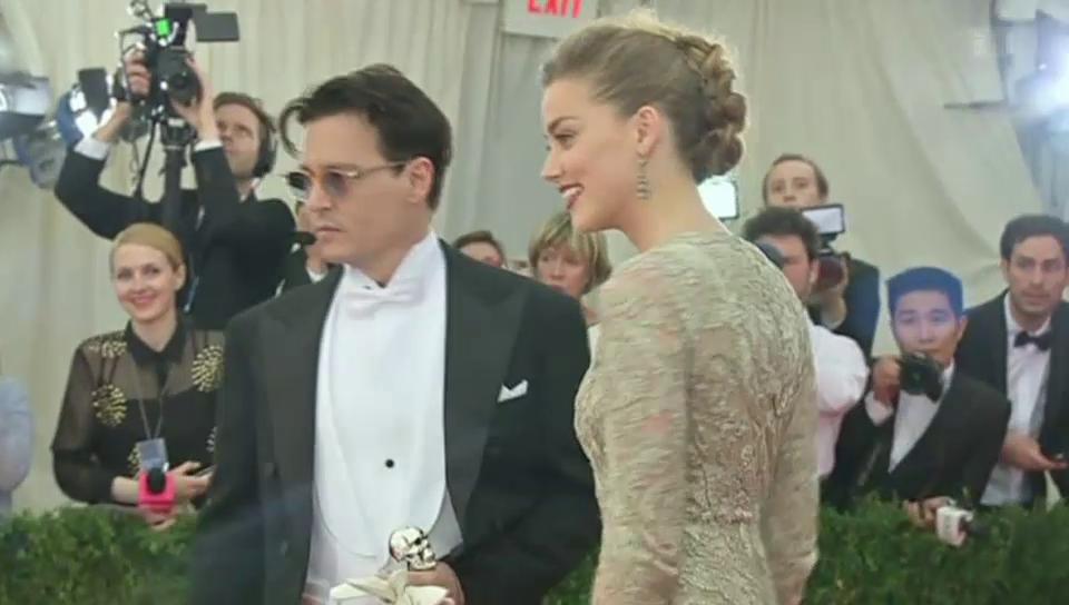 Hochzeit: Johnny Depp tritt vor den Altar
