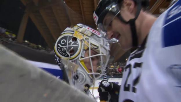 Video «Eishockey: Spengler Cup, Halbfinal, Lugano - Jekaterinburg» abspielen