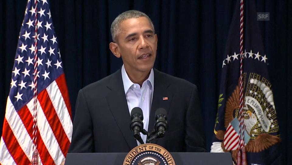 Obama nimmt Stellung zum Tod von Richter Scalia (unkomm.)