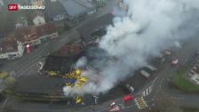 Video «Millionenschaden in Balsthal» abspielen