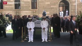 Video «Mandela wird in Petoria aufgebahrt» abspielen