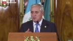 Video «Korruptionsskandal in Guatemala» abspielen