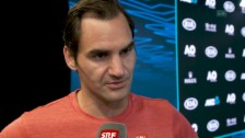 Link öffnet eine Lightbox. Video Federer: «Spielt, wie die neue Generation einfach spielt» abspielen