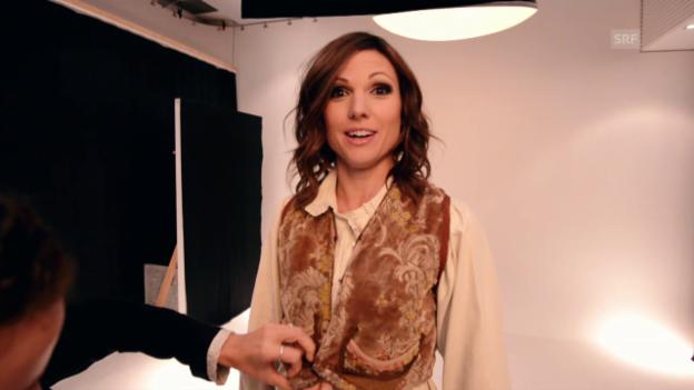 Video «Fotoshooting «Heidi»-Filmplakat mit Viola Tami» abspielen