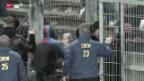 Video «Fankrawalle I – beklemmende Dokumente der Gewalt im Fussball» abspielen