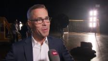 Video «Hüppi: «Hoffe auf möglichst viele Tore»» abspielen