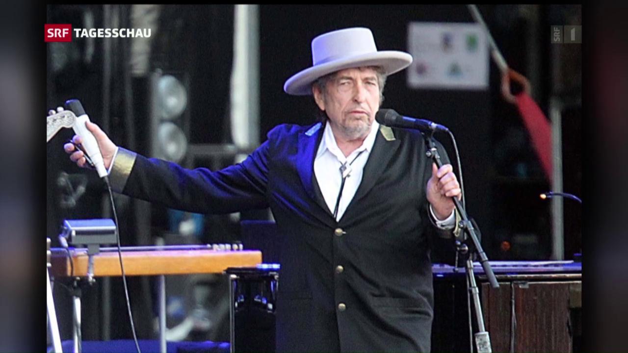 Bob Dylan erhält den literarischen Ritterschlag