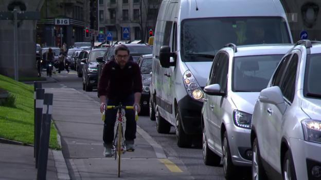 Video «Der Kleinkrieg auf Schweizer Strassen» abspielen