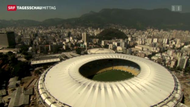 Video «Maracana: Brasilien-England findet doch statt» abspielen