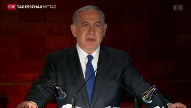 Video «Israel gedenkt der Holocaust-Opfer» abspielen