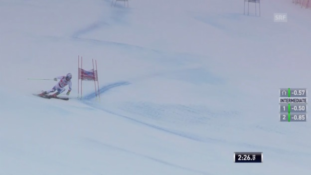 Video «Ski: Riesenslalom St. Moritz («sportlive», 02.02.2014)» abspielen