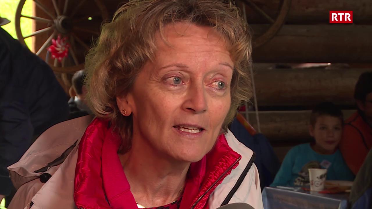 Eveline Widmer-Schlumpf al brunch dal 1. d'avust