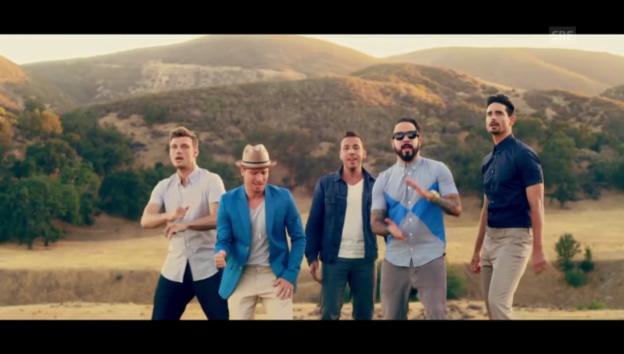 Video ««In A World Like This»: Titelsong des neuesten Albums der Backstreet Boys» abspielen