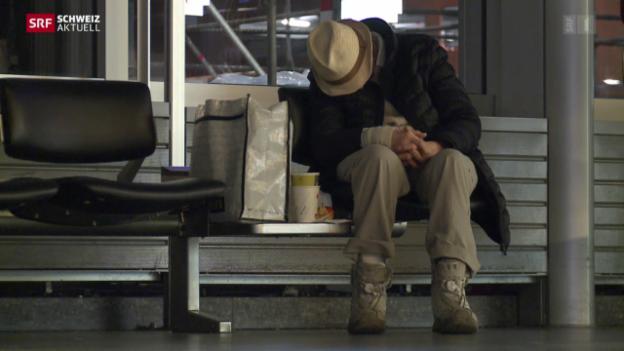 Video «Die SIP soll teure Kosten von Obdachlosen vermeiden» abspielen