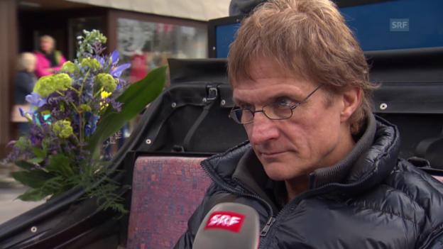Video «Eishockey: Kutschen-Interview mit Arno Del Curto» abspielen