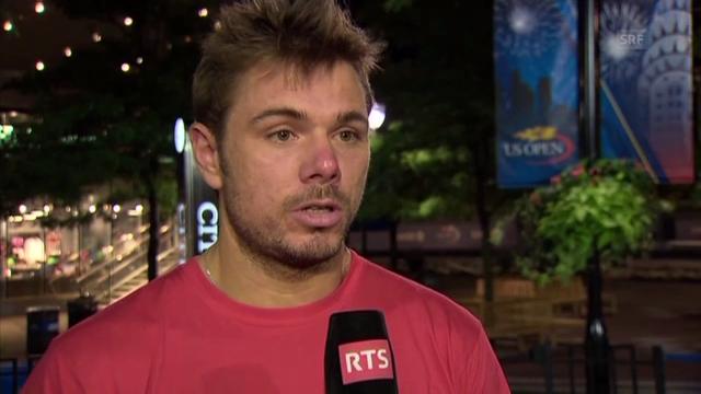 Wawrinka-Interview nach Sieg gegen Berdych (französisch)