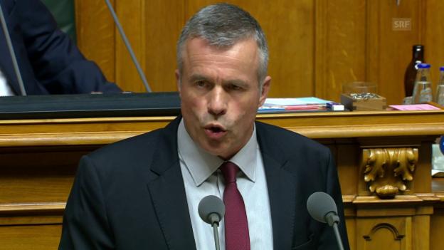Video «Lorenz Hess: Parlamentsmikado» abspielen