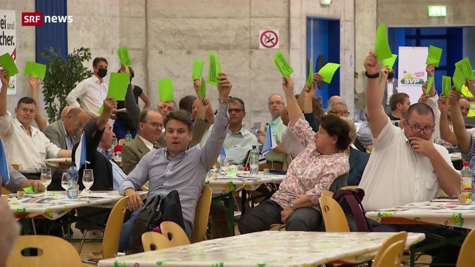 Delegierte von SVP, GLP und Grüne haben Parolen gefasst