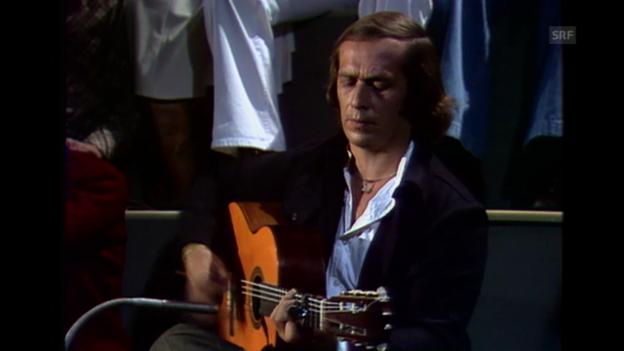 Video «Paco de Lucía in der Sendung Plattform (1978)» abspielen