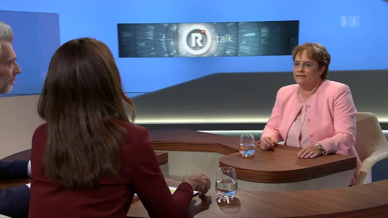 «Rundschau talk» mit Magdalena Martullo-Blocher