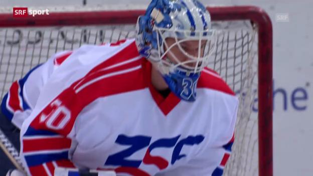Video «NLA: ZSC Lions - Bern» abspielen