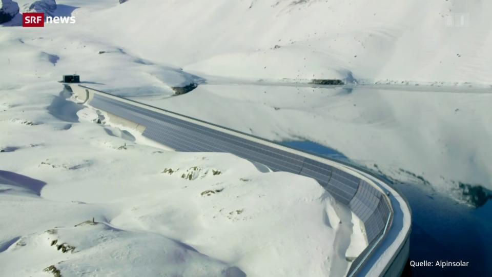 Il pli grond implant fotovoltaic en las Alps Svizras (tudestg)